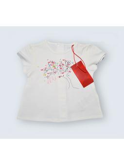 T-Shirt Elle - 3 Mois