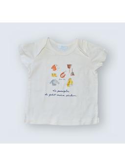 T-Shirt Jacadi - 12 Mois