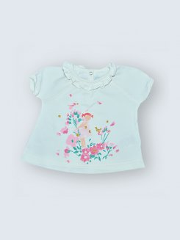 T-Shirt Petit Bateau - 3 Mois
